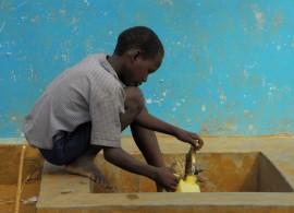Africain eau couleurs