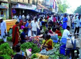 Foule Inde Mumbai